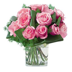 Fleurs deuil Olympie Rose Deuil